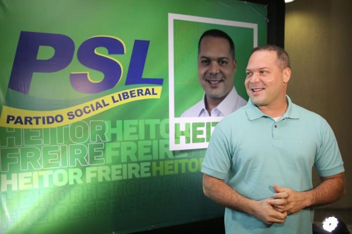 PSL no Ceará deverá receber R$ 8 milhões do fundo eleitoral